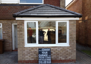 Garage Conversion - Outside of Building
