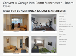convert a garage into room