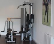 convert garage into gym
