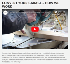 convert your garage work video