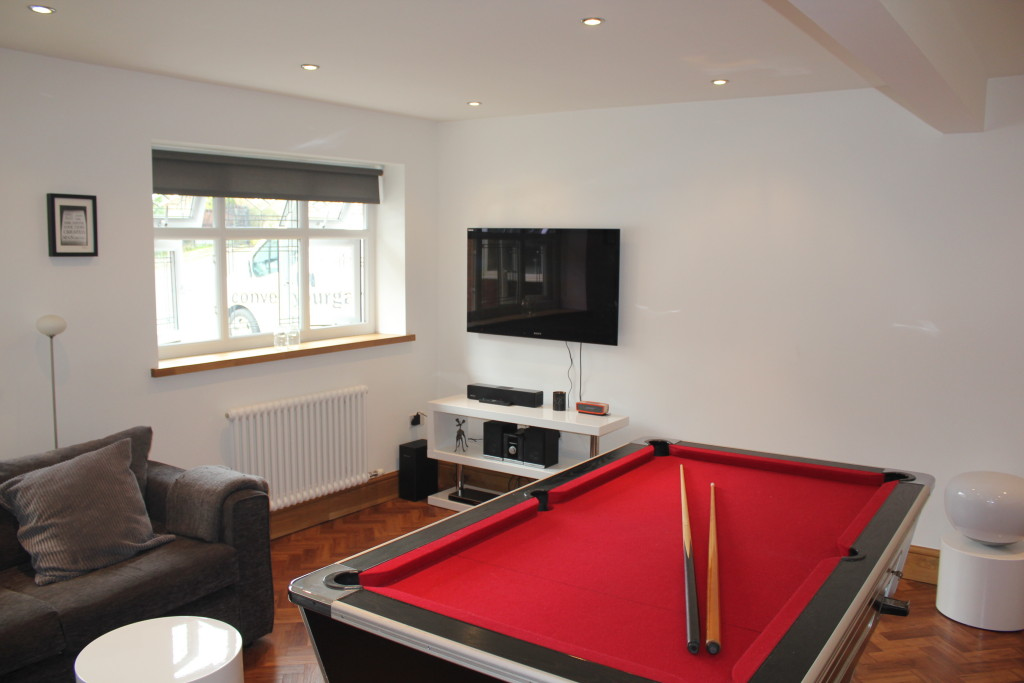 snooker room conversion