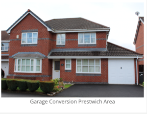 garage conversion in prestwich